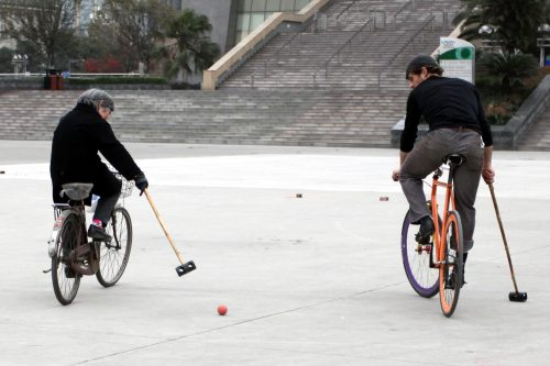 Chinese Old Style Bike for Bike Polo